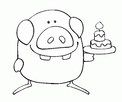 funny happy birthday coloring pages 514751 coloring pages for