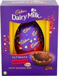 fruit and nut easter eggs cadbury dairy milk ultimate fruit nut egg 560g compare prices