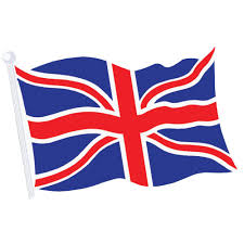 The Grand Union Flag Union Jack Paper Hand Waving Flags Peeks