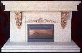 decorative fireplace logs photos