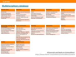 the value of elsevier u0027s sciencedirect