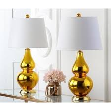 safavieh lighting 26 5 inch cybil double gourd red table lamps