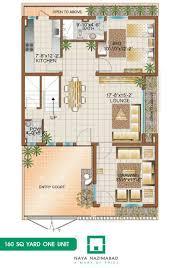 400 yard home design naya nazimabad housing city karachi bunglows floor planslayout 9