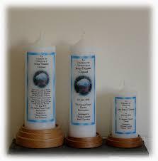 christening candles border christening jennies candles