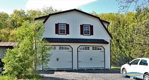 gambrel 2 story garage doublewide structures pinterest gambrel