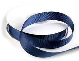 navy blue ribbon navy blue grosgrain ribbon ribbon and trims craft supplies