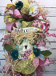 spring door wreaths on sale beautiful spring summer vertical door swag spring door