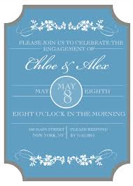 9 free printable engagement party invitations