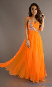 sun set like look in the orange prom dresses fashioncold