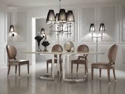 dining room wainscoting furniture mid century oval dining table and modern pendant