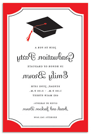 Invitation Card For Reunion Party Impressive Graduation Invitation And Announcement Card Ideas For