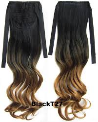 Synthetic Hair Extension by Synthetic Ponytails Extensions