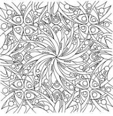abstract coloring page 9 free to print pdf file coloring