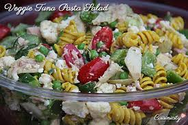 pasta salad with tuna veggie tuna pasta salad cuisinicity