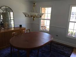 help surprising hubby what color to paint walls with chair rail