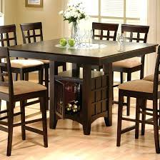 dining table with wine storage wonderful dining room table with wine rack the extraordinary table