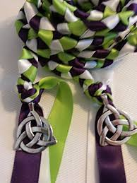 fasting cord divinity braid celtic triquetra wedding fasting