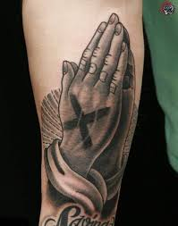 best praying tattoos