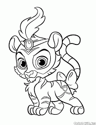 coloring page happy royal ponies
