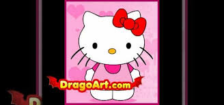 draw kitty drawing u0026 illustration wonderhowto