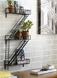 Bathroom Wall Furniture Wall Shelves Design Artistic Wrought Iron Shelves Wall Mounted