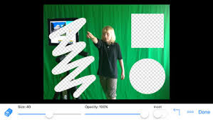 green screen by do ink on the app store