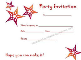 printable party invitations free printable birthday party invitations for boys gangcraft net