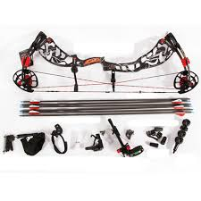 bow supplies sanlida archery supplies shooting compound bow and arrow set for