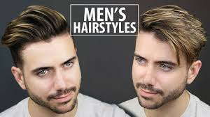 Hairstyles Easy And Quick by 2 Quick And Easy Hairstyles For Men Men U0027s Hairstyle Tutorial