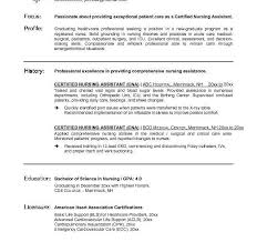 Cna Resume Sample For New Graduate Cna by Classy Idea Cna Resume Templates 4 Cna Resume Template Resume
