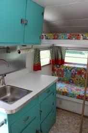 Camper Trailer Kitchen Ideas 158 Best Tricked Trailers Images On Pinterest Vintage Campers