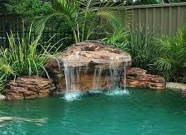 pools with waterfalls maldives swimming pool waterfalls kits artificial pool rock