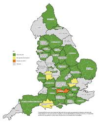 Cheshire England Map by Variable Geography The Implications Of Devolution For Policing In