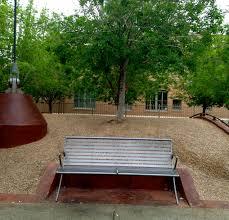 park bench workout