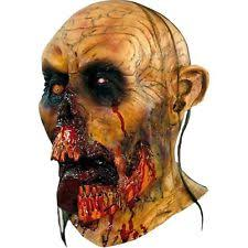zombie mask halloween party costume scary rotted tongue ta480