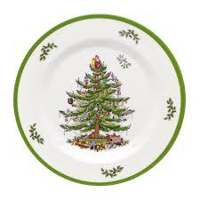 christmas plates spode christmas tree melamine set of 4 salad plates spode usa