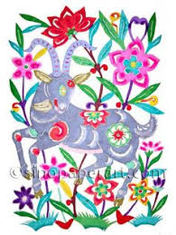 Chinese Art Design Chinese Paper Cut Black Bunny Bunny Sisters Pinterest