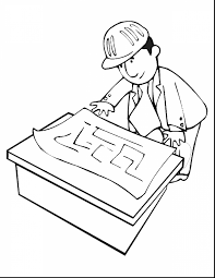Beautiful Construction Tools Coloring Pages With Construction Tools Coloring Page