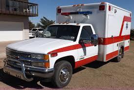 1991 chevrolet silverado c3500 ambulance item f6215 sold