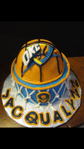 22 best okc cake images on pinterest thunder cake birthday