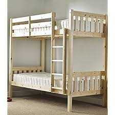 Adult Bunkbed Ft  Small Single Shaker Solid Pine Bunk Bed Can - Pine bunk bed