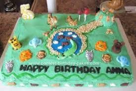 jungle theme cake coolest jungle rainforest theme cake