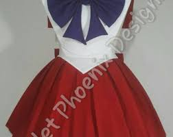 Sailor Mars Inspired Rave Wear Theme Wear Dance by Sailor Mars Costume Etsy