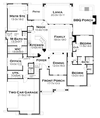 bungalow style house plan 3 beds 2 5 baths 2234 sq ft plan 120