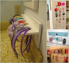 organize hair accessories cool ideas to store your hair accessories