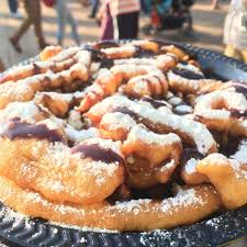 just had this delicious funnel cake 8 25 with 1 topping plus