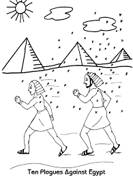coloring ten plagues of egypt coloring pages