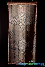 Bamboo Door Beads Curtain by 12 Bamboo Beaded Door Curtains Natural Bamboo Moon Beaded