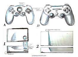 ps5 console controller u0026 virtual actuality designs