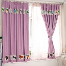 Pink Curtains For Sale On Sale Pink Purple Cotton Poly Blackout Kids Curtains